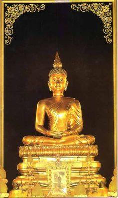 พระพุทธอังคีรส : ปางสมาธิ ขัดสมาธิราบ พุทธศิลป์แบบรัตนโกสินทร์ ขนาดหน้าตัก 2 ศอกคืบ หรือ 60 นิ้ว หล่อด้วยสำริด กะไหล่ทองคำ ใต้ฐานพุทธบัลลังก์บรรจุพระบรมอัฐิบูรพกษัตริย์แห่งราชวงศ์จักรีถึง 4 รัชกาล คือ รัชกาลที่ 2, รัชกาลที่ 3, รัชกาลที่ 4 และรัชกาลที่ 5 ประดิษฐาน ณ พระอุโบสถ วัดราชบพิธสถิตมหาสีมารา ราชวรมหาวิหาร กรุงเทพฯ
