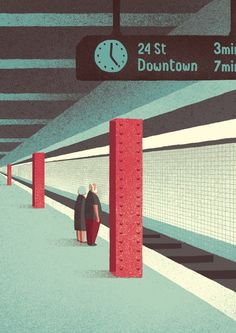 Davide Bonazzi // Waiting