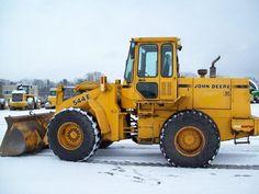 1991 John Deere 544E For Sale (3483607) :: Construction Equipment Guide