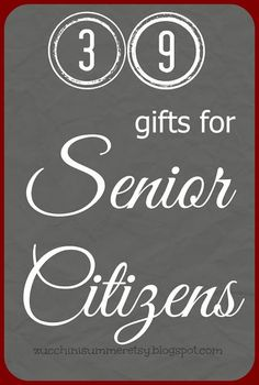 Over 100 gift ideas for senior citizens epic elderly gift guide ever wonder what to get for someone with a little more life experience here are 39 gift ideas for senior citizens negle Images
