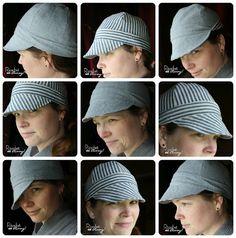 Cute welder's hat pattern!  And it's free!