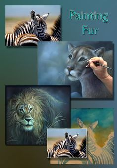How to paint realistic animal fur for acrylic wildlife paintings. Step by step online painting class at the Art Apprentice Online. Acrylic Painting Techniques, Painting Videos, Painting Lessons, Painting Tutorials, Painting Tips, Art Tutorials, Acrylic Tutorials, Painting Pictures, Art Techniques