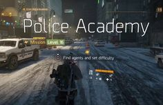 The Division has a Pretty Cool Police Academy Easter Egg