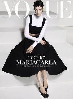 Vogue Turkey October 2013 | Mariacarla Boscono | Cuneyt Akeroglu