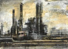 industrial landscapes artists - Google Search
