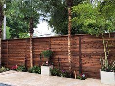 Building A Fence, Horizontal Fence, Garage Doors, Outdoor Decor, Home Decor, Decoration Home, Room Decor, Interior Design, Home Interiors