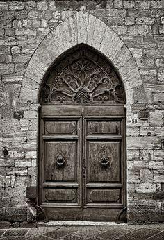 Door Series - San Gimignano