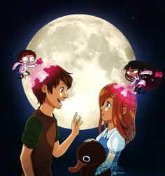 To The Moon. by TV-SHOW on DeviantArt
