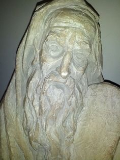 Sculpture Of  Moses Holding The Tablets Of The Ten Commandments Done By Artist ARNOLD HENRY BERGIER Clay Pottery https://www.etsy.com/listing/180259496/sculpture-of-moses-holding-the-tablets?