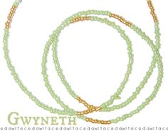 Gwyneth Custom Fit Waist Beads  Necklace / Bracelet / by dawlface8 ❤ Transform every outfit into a fashionista masterpiece with our fabulous body jewelry! ❤ Given as a gift, the shimmering colors and bright eyed designs will dazzle your Loved-Lady. ❤ The highly versatile nature of this piece will forever be a win!  ~ Show off your magnificent curves with a fantastic set of Belly Beads.