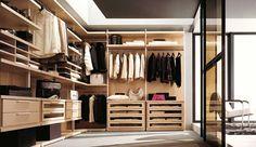 How to have an insurmountable walk-in closet