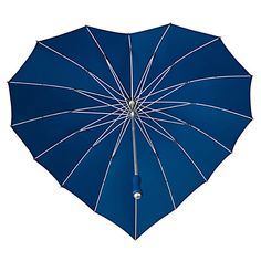 {the inside/underneath view} <3 Heart Umbrella Dark Blue by Splash Innovation <3 great for a photo shoot, from below or above <3