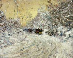 van Gogh snow
