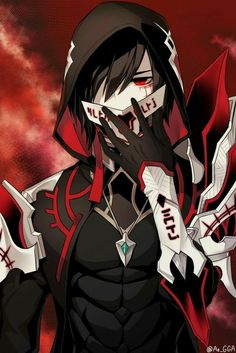I like to make elsword video and all about this game Anime Demon Boy, Anime Devil, Dark Anime Guys, Cool Anime Guys, Anime Warrior, Anime Boys, Manga Anime, Art Anime, Fanarts Anime