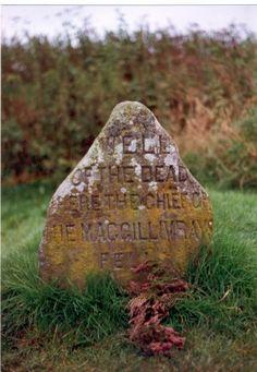 Battlefield of Culloden Moor, Scotland