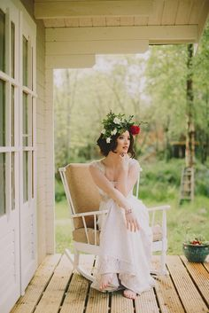 Into the woods – Wedding Journal Magazine editorial