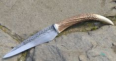 FIANNA Celtic Knife Seax Hand Forged Replica by WulflundJewelry