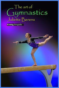The art of Juliette Berens op Balk, 1/2 finale Turnen Dames 2015 in Amsterdam