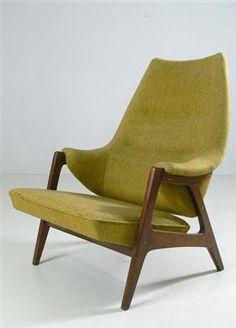 Lauritz.com - Møbler - Norsk design og prod. - lenestol, 1950-tallet - NO, Oslo, Sannergata 3