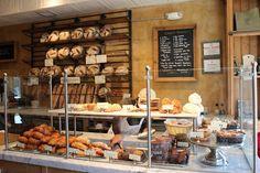 Baguette, pain au chocolat, croissant ! all that at Le Pain Quotidient Georgetown
