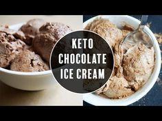 Low Carb Ice Cream | Chocolate Gelato! - KetoConnect