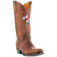 Gameday Georgia Bulldogs Cowboy Boots - Brown