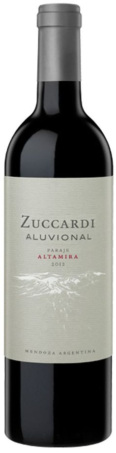 """Zuccardi Aluvional Paraje Altamira"" Malbec 2013 - Zuccardi Wines, Mendoza"