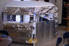 Making a Space Ship Play Center - Fairy Dust Teaching