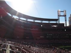 Almost game time... Busch Stadium