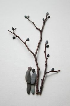 DIY z kamieni dekoracja eco manufaktura Pebble Art