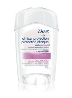 Stay protected with soothing comfort with Dove® Clinical Protection Original Clean Anti-Perspirant. #antiperspirant   #sweat