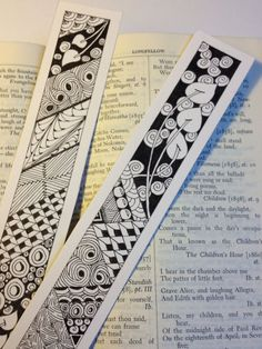 Handmade Gifts & Wrap Ideas : signets~Zentangle... https://diypick.com/diy-gifts/handmade-gifts-wrap-ideas-signetszentangle/
