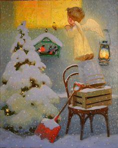 Рождественский ангел... ♫♪♫♪. Обсуждение на LiveInternet - Российский Сервис Онлайн-Дневников