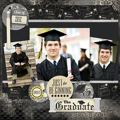 #Graduation #Scrapbook
