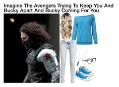 """Imagine The Avengers Trying To Keep You And Bucky Apart And Bucky Comeing For You"" by alyssaclair-winchester ❤ liked on Polyvore featuring Ksubi, Converse, Larke, Karen Kane, imagine, Avengers, marvel, buckybarnes and TheWinterSoldier"