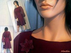 Produktbilde Chiffon, Ruffle Blouse, Women, Fashion, Silk Fabric, Moda, Fashion Styles, Sheer Chiffon, Fashion Illustrations