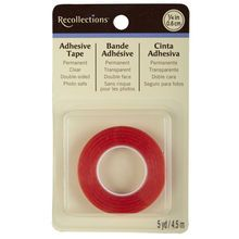 Recollections™ Adhesive Tape, or any of the strong red double sided tapes