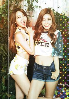 GIRL'S DAY MINAH & SOJIN