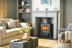 How to reopen a hidden fireplace