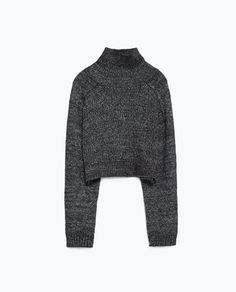 Image 8 of HIGH NECK SWEATER from Zara