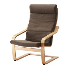 POÄNG Chair cushion - Dansbo medium brown - IKEA ... I like this color cushion, we need a new one :)