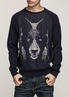 Front Bearwolf - Navy