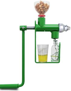 Make Healthy Coconut Oil at Home with Manual Oil Press Machine