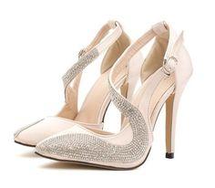$30.59 (Buy here: https://alitems.com/g/1e8d114494ebda23ff8b16525dc3e8/?i=5&ulp=https%3A%2F%2Fwww.aliexpress.com%2Fitem%2FSize-4-8-Crystal-High-Heel-Women-Shoes-2015-Wedding-Shoes-Women-Pumps-zapatos-mujer%2F32358704014.html ) Size 4~8 Crystal High Heel Women Shoes 2016 Women Fashion Wedding Shoes Women Pumps zapatos mujer for just $30.59