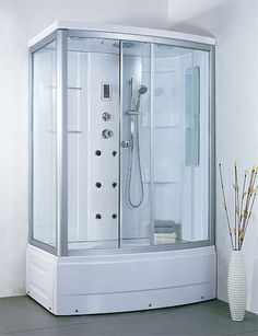 Enclosed Showers fully enclosed shower   tiny bathroom   pinterest   shower