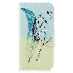 Housse iPhone X - Plume et oiseaux