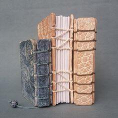 Ceramic books by Niqui Kommerkamp #Handmade paper #Geschept papier #keramiek #boek #artist book #keramische kunt #ceramic art