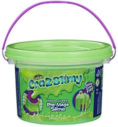 Cra-Z-Slimy Neon Green Slimy Goop, Large 24 oz tub! Ghostbusters Birthday Party, Neon Green, Compost, Slime, Tub, Birthday Parties, Anniversary Parties, Bath Tub, Soaking Tubs