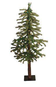 Holiday Time 6.5 Ft Pre-lit Green Colorado Pine Tree with 400 ...