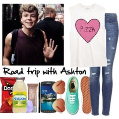 A fashion look from May 2014 featuring blue ripped jeans, laced shoes and rose sunglasses. Browse and shop related looks. 5sos Outfits, 5sos Preferences, Blue Ripped Jeans, Gothic Dress, Dory, Road Trip, Topshop, Fashion Looks, Urban Decay